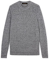 Jaeger Tape Tuck Stitch Jumper, Grey