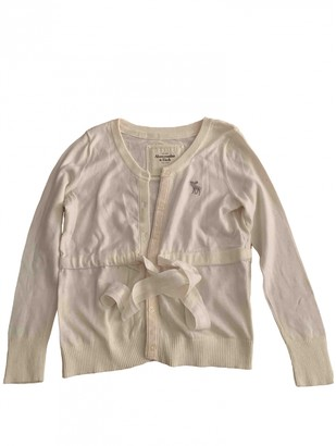 Abercrombie & Fitch White Cotton Knitwear for Women
