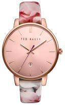 Ted Baker Women's Leather Strap Watch, 40Mm