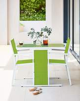 Fashion World Capri 3 Piece Compact Dining Set Green