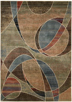 "Nourison Area Rug, Expressions XP07 Multi 2'3"" x 8' Runner Rug"