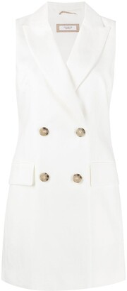 Peserico Double-Breasted Waistcoat