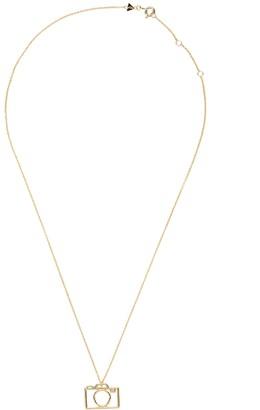 ALIITA Camara Brillante 9kt gold necklace