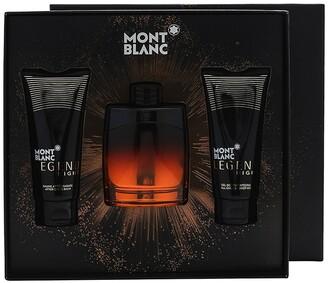 Montblanc Legend Night 3-Piece Eau de Toilette Spray, After Shave Balm Shower Gel Set