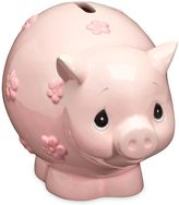 Precious Moments Piggy Bank in Pink