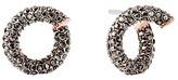 Michael Kors Pavé Twist Stud Earrings