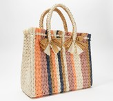 Vince Camuto Large Straw Fringe Tote - Emei