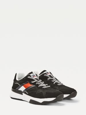 Tommy Hilfiger Recycled Mixed Texture Trainers