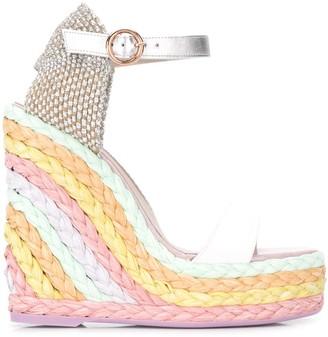 Sophia Webster Lucita Espadrille 140mm Wedged sandals