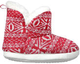 Joe Fresh Toddler Girls' Slipper Boots, Red (Size M)