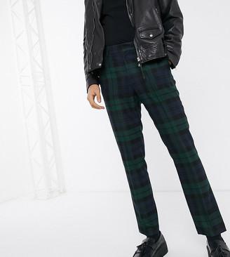 Heart N Dagger super skinny pants in blackwatch check