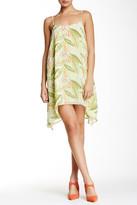 BCBGeneration Sleeveless Scoop Neck Printed Dress