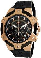 Invicta Signature Men's Rose Gold Tone Stainless Steel Signature Chronograph ...
