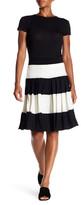 Norma Kamali Pleated Knee Skirt