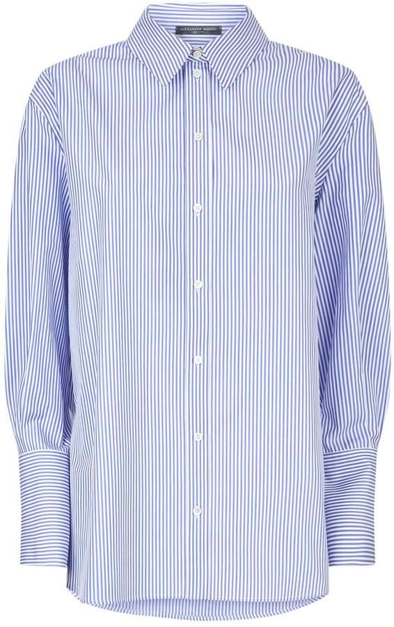 Alexander McQueen Striped Shirt