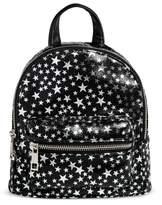 Mossimo Women's Metallic Star Print Mini Backpack