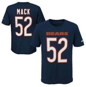 Nike Khalil Mack Chicago Bears Pride Name and Number 3.0 T-Shirt, Big Boys (8-20)