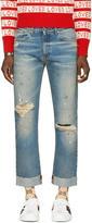 Gucci Blue laveugle Par Amour Jeans