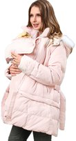 Sweet Mommy 2way Length Down Maternity and Mama Coat with baby wearing pouch PKF