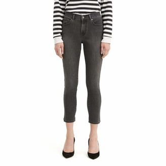 Levi's Women's Classic Crop Side Slit Jeans