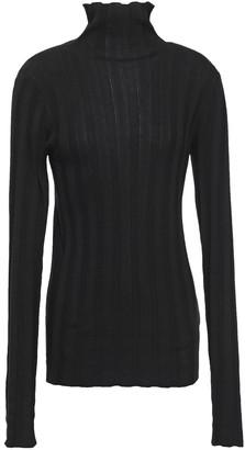 Mara Hoffman Ribbed Modal Turtleneck Sweater