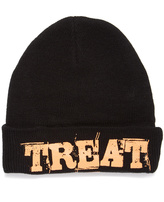 David & Young Black 'Treat' Beanie