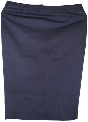 Patrizia Pepe Blue Cotton Skirt for Women