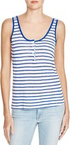 Frame Le Nautical Henley Stripe Tank