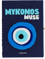 Olympia Le-Tan Olympia Le Tan Mykonos Strapped Book Clutch Bag