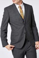 Next Charcoal Slim Fit Travel Suit: Jacket