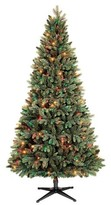 Philips 6.5ft Pre-Lit Artificial Christmas Tree Balsam Fir - Multicolored Lights