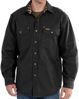 Carhartt Weathered Canvas Shirt Jacket (For Men)