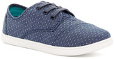 Toms Paseo Chambray Polka Dot Sneaker (Little Kid & Big Kid)