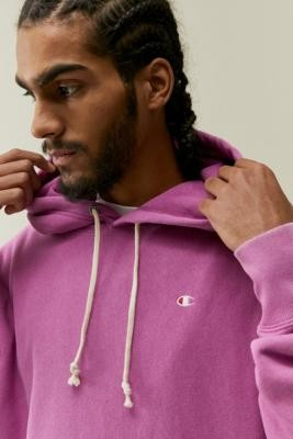 Champion UO Exclusive Berry Hoodie - Green S at Urban Outfitters