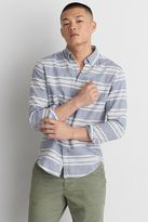 American Eagle Outfitters AE Classic Stripe Linen Shirt