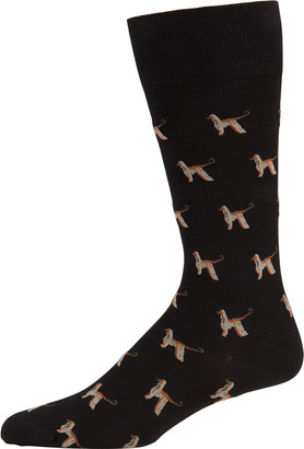 Paul Smith Men's Afghan Hound Socks