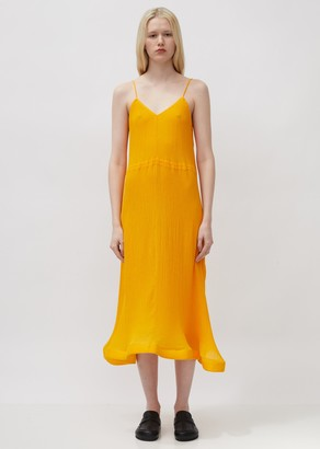 J.W.Anderson Trumpet Hem Pleat Dress