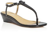 Splendid Justin T-Strap Thong Demi Wedge Sandals