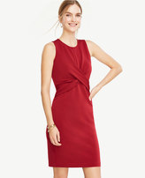 Ann Taylor Petite Twist Sheath Dress