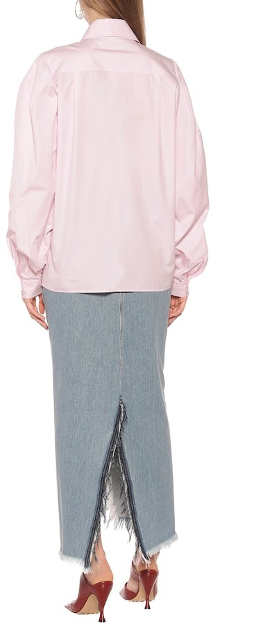 Thumbnail for your product : Givenchy Embellished cotton shirt