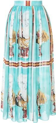Tata-Naka Tata Naka all-over print skirt