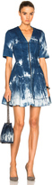 Stella McCartney Tie Dye Denim Dress