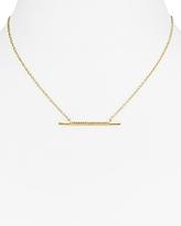 BaubleBar Millie Bar Pendant Necklace, 14.5