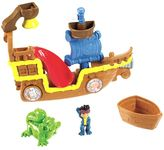 Fisher-Price Disney Jake and the Never Land Pirates Splashin' Bucky Bath Toy by