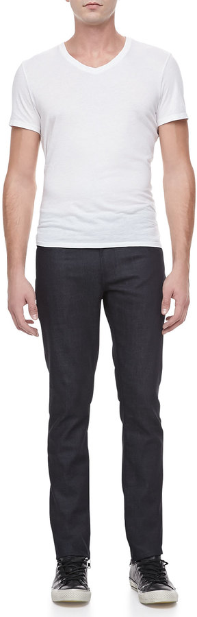 J Brand Jeans Tyler Slim-Fit Narrow Leg Jeans, Dark Blue