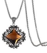 Winter.Z Bead Metal chain Hide rope Crystal Diamond Explosion models exaggeration fashion retro false collar necklace