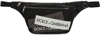 Dolce & Gabbana Logo Tape Nylon Belt Bag