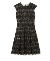 Vince Camuto Sequin-detailed Lace Dress