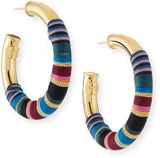 Gas Bijoux Porto Wrapped Hoop Earrings