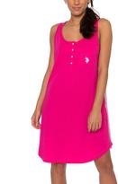 U.S. Polo Assn. Pink Paradise Sleeveless Chemise